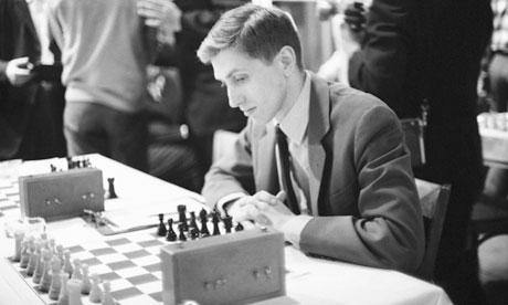 Bobby Fischer Black And White