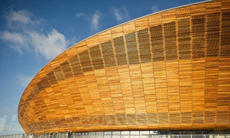 Olympic velodrome, Stratford, East London