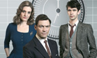 Romola Garai, Dominic West and Ben Whishaw in the BBC's The Hour, written by playwright Abi Morgan