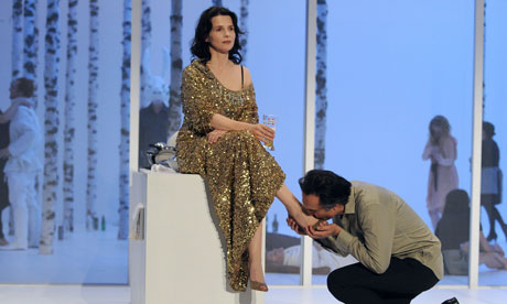 Enotionally Charged Juliette Binoche And Nicolas Bouchaud In