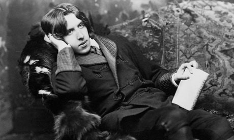 Forward thinking ... Oscar Wilde, one of the first prose poem innovators in English.
