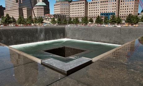 Ground Zero September 11 2001 memorial park, New York
