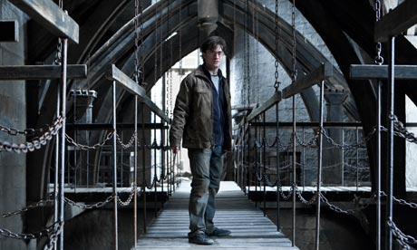 Daniel Radcliffe in a film still from Harry Potter and the Deathly Hallows Part 2