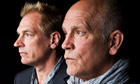 Julian Sands and John Malkovich