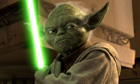 Jedi master Yoda in a scene from Star Wars Episode III: Revenge of the Sith