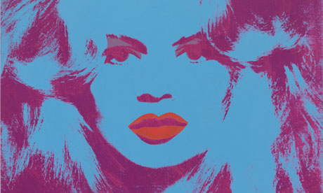 Andy Warhol's 1974 painting of Brigitte Bardot