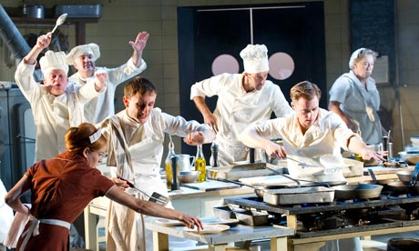 The Kitchen by Arnold Wesker at the Olivier theatre