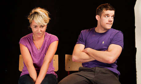 Jaime Winstone and Russell Tovey