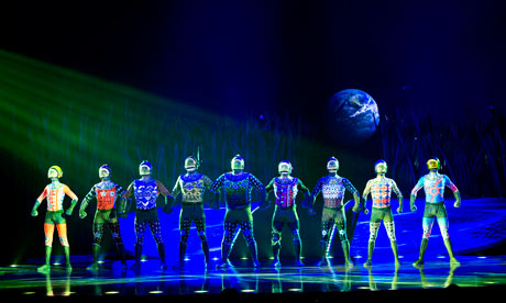 Totem by Cirque du Soleil at the Royal Albert Hall, directed by Robert Lepage.