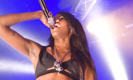 Angel Haze Performs At Hoxton Bar & Grill