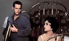 Paul Newman as Brick and Elizabeth Taylor as Maggie in Cat on a Hot Tin Roof (1958).