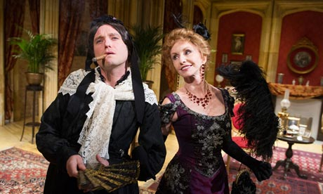Matthew Horne and Jane Asher in Charley's Aunt at Menier Chocolate Factory