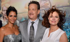 alle Berry, Tom Hanks and Susan Sarandon at the premiere of Cloud Atlas