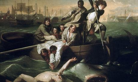 <Watson and the Shark> by John Singleton Copley