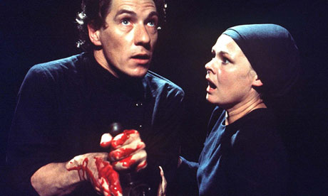 Ian McKellen and Judy Dench