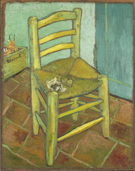 Van Gogh's Chair, 1888: Vincent van Gogh (1853-90)