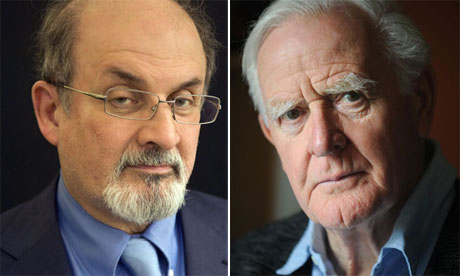 Authors Salman Rusdie and John le Carre end literary feud