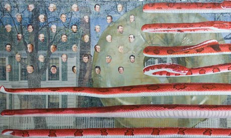 Jim Shaw: Untitled … US Presidents (2006)