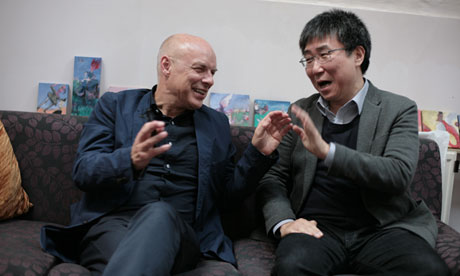 Eno and Chang in conversation