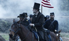 Daniel Day-Lewis as President Abraham Lincoln in Steven Spielberg's historical