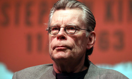 Stephen King speaks at Academy of the Sacred Heart, New Orleans, America - 12 Nov 2011