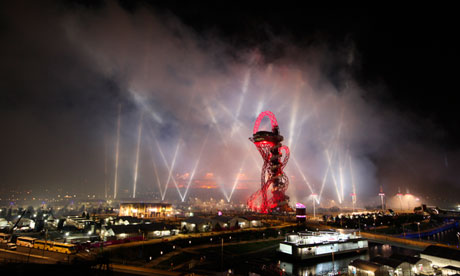 London 2012 Olympic park, and the ArcelorMittal Orbit