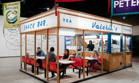 Valerie's Snack Bar, 2009, by Jeremy Deller