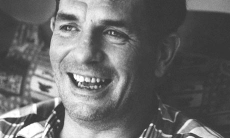 Jack Kerouac in 1967, smiling