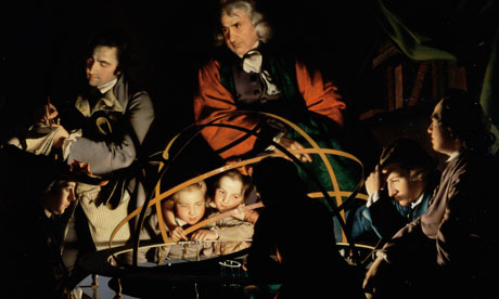 The Orrery by Joseph Wright of Derby