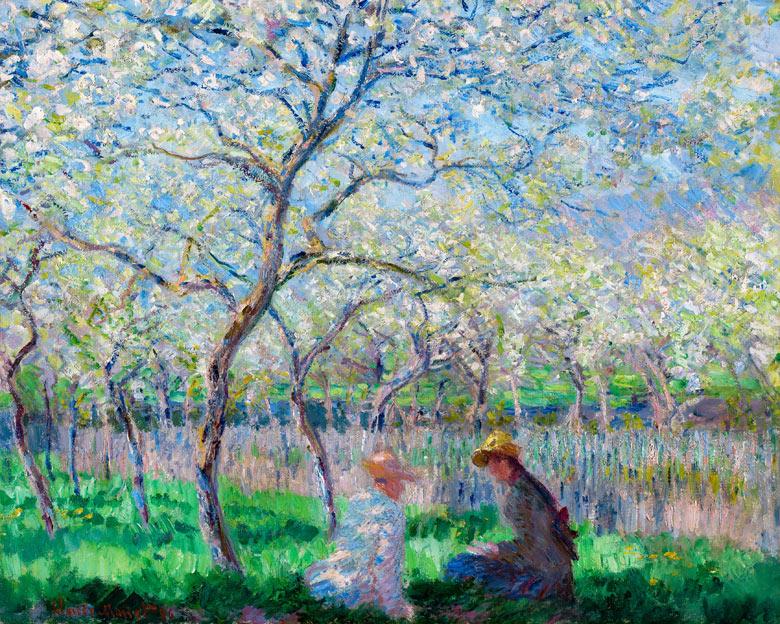 Claude Monet's Le Printemps.