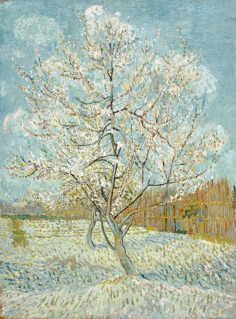 Vincent van Gogh's The Pink Peach Tree (1888).