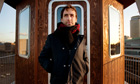 Andrew Bird, outside A Room For London
