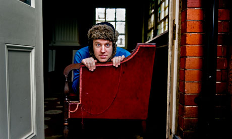 Tim Vine In Chair