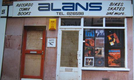 The Legendary Alan's Record Shop