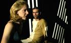 Julia Rounthwaite and Daniel Settatree in Tony Kushner's Angels in America