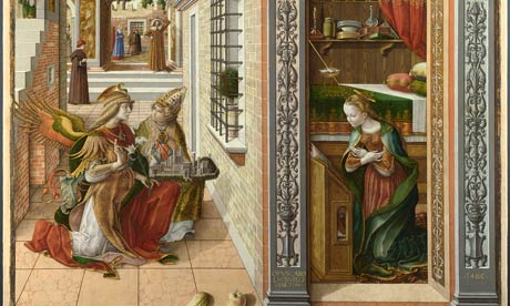 Detail from Carlo Crivelli's The Annunciation
