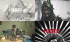 Turner prize nominated artists Paul Noble, Spartacus Chetwynd, Luke Fowler, Elizabeth Price