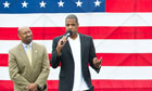 Philadelphia Mayor Michael Nutter and Jay-Z