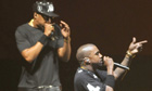 Jay-Z and Kanye West O2 Watch the Throne
