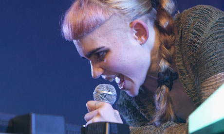 Grimes Performs At Brudenell Social Club In Leeds