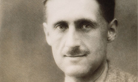 More relevant than ever … George Orwell, who saw the writer as a free individual striving for objective truth. Photograph: Rex Features