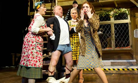 Farce is everywhere on stage but why stage the guardian for Farcical in french