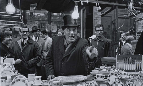 Selling point … Milon Novotny's shot of Middlesex market – part of Another London at Tate Britain.