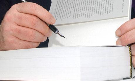 book signing Rick Gekovski