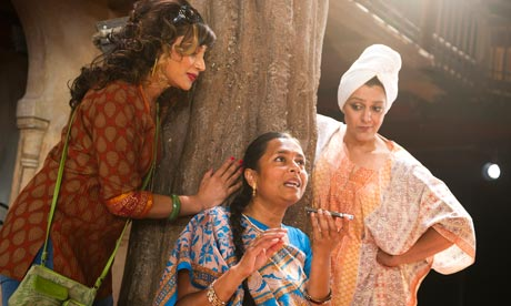 Chetna Pandya, Bharti Patel and Meera Syal in Much Ado About Nothing