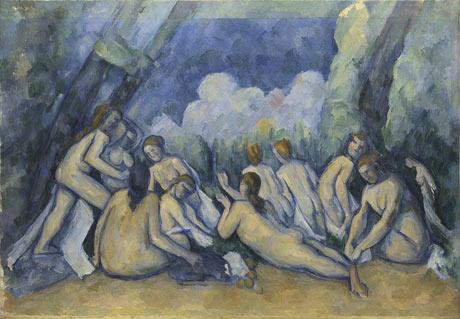 Paul Cezanne, Bathers (Les Grandes Baigneuses)