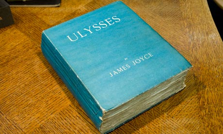 A first edition copy of Ulysses by James Joyce
