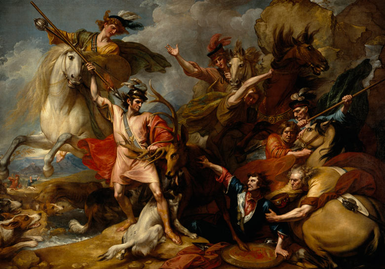 Death of the Stag, Benjamin West