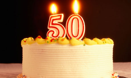 Birthday Cakes Images For 50 Year Old Woman : Things I hate about turning 50: Deborah Orr Science ...