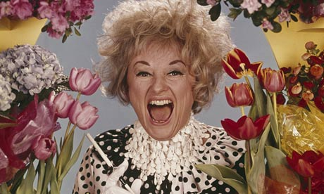 Smoke and mirrors … Phyllis Diller.